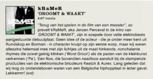 RIF RAF over kRaMeR // DROOMT & WAAKT